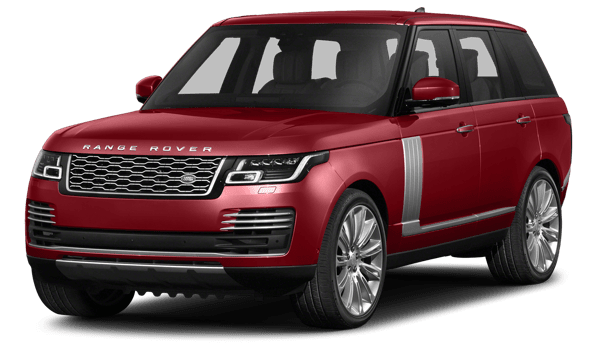 2018 Land Rover Range Rover white background