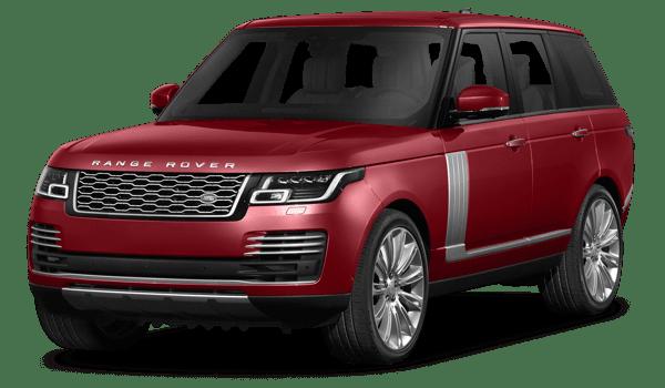2018 Land Rover Range Rover white background