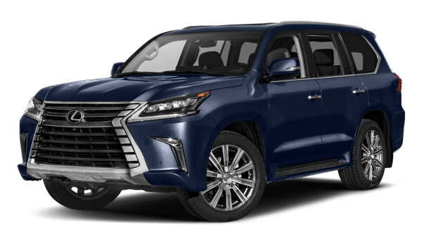 2018 Lexus LX white background