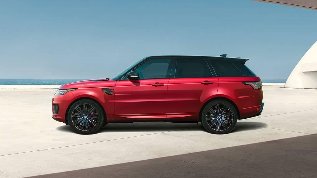 2019 Land Rover Range Rover Sport red exterior
