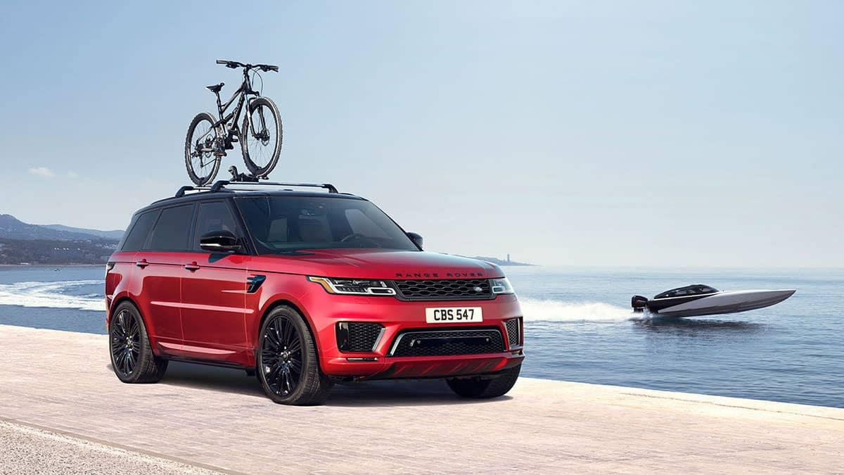 2019 Land Rover Range Rover Sport exterior features