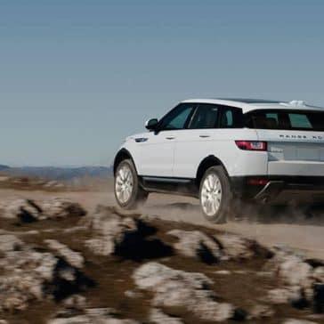 2019 Range Rover Evoque white exterior