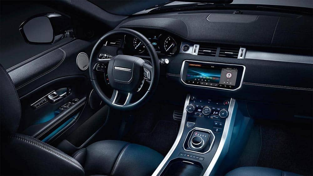 2019 Range Rover Evoque front interior features