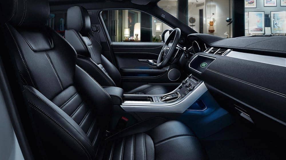 2019 Range Rover Evoque front interior