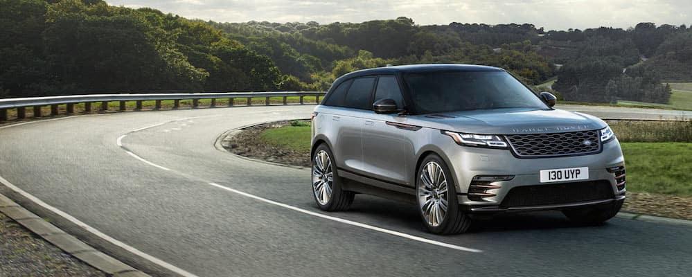 2019 silver range rover velar exterior