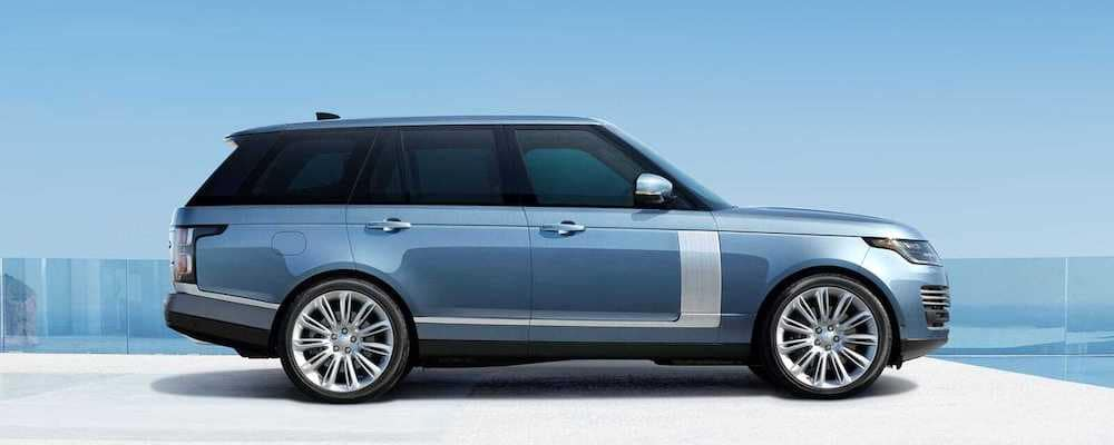 2019 Range Rover in Byron Blue - profile