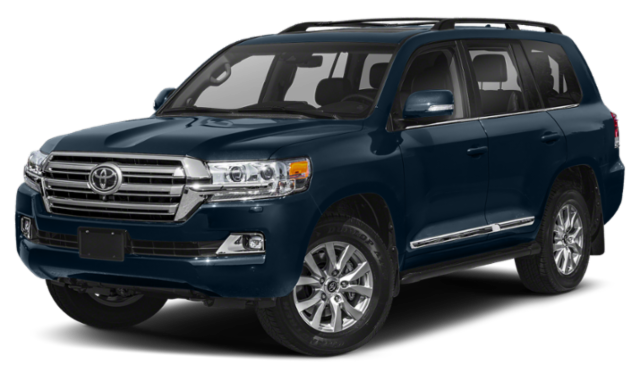 2019 toyota land cruiser blue exterior