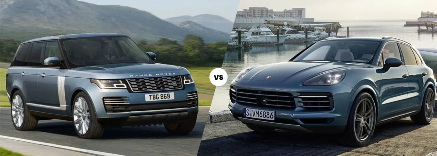 2020 Land Rover Range Rover vs. Porsche Cayenne