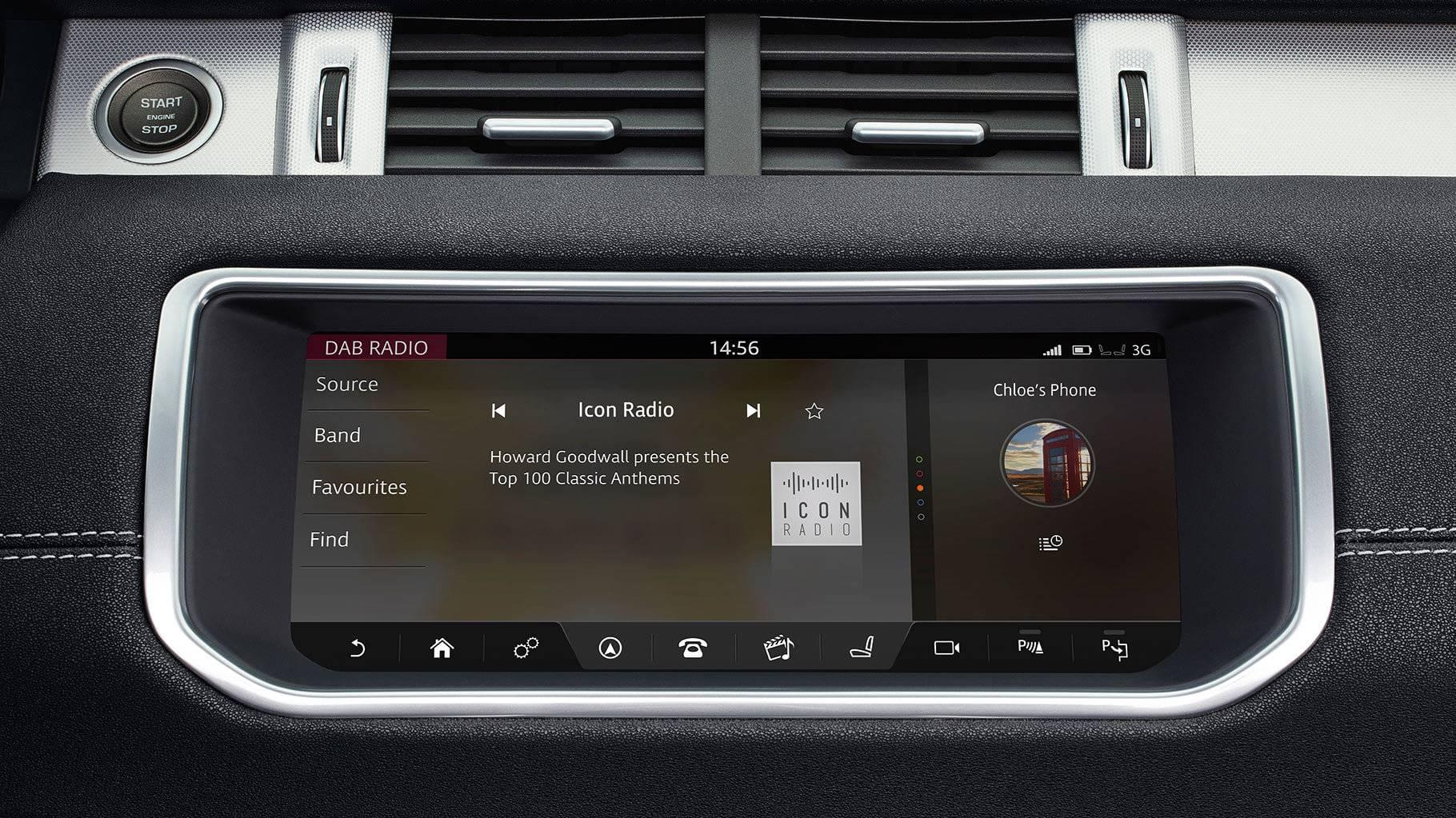 2017 Land Rover Range Rover Evoque Technology Features