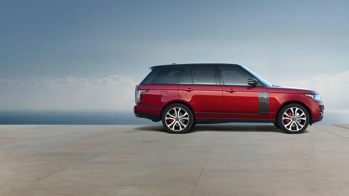 2017 Land Rover Range Rover Red Exterior