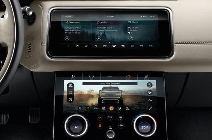 2018 Range Rover Velar Touchscreen