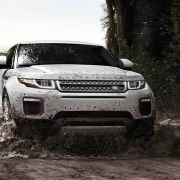 2018 Land Rover Range Rover Evoque off-roading