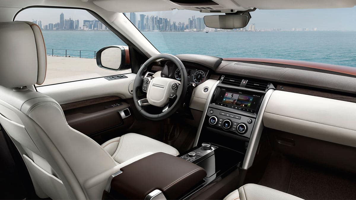 2018 Land Rover Discovery Interior