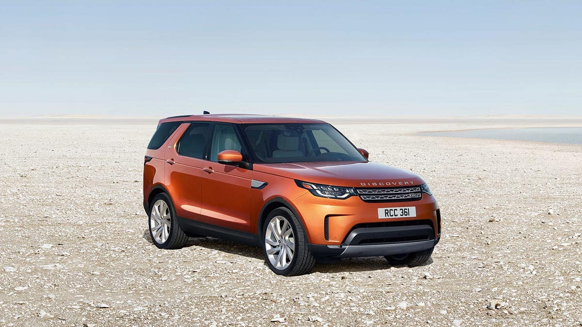 2018 Land Rover Discovery Exterior