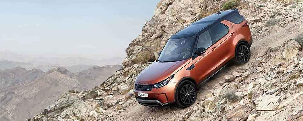 2018 Land Rover Discovery Hill Descent