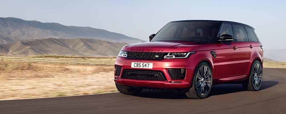 2018 Land Rover Range Rover Sport Adaptive Dynamics