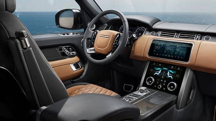 2018 Land Rover Range Rover Interior Technology Features
