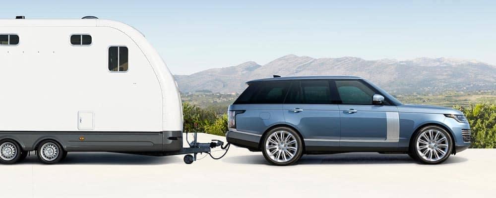 2018 Land Rover Range Rover Towing a Trailer