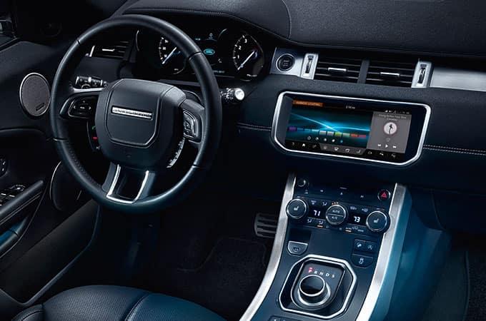 2019 Land Rover Range Rover Evoque front interior
