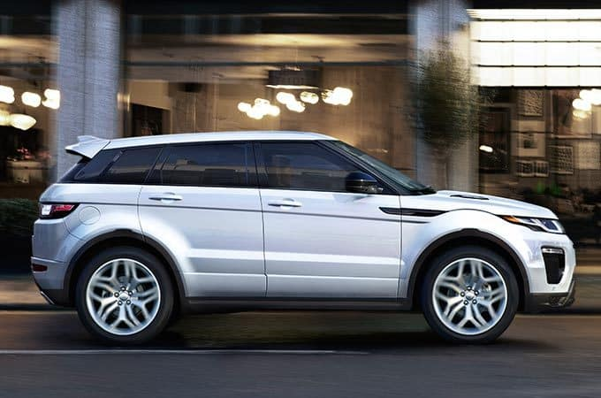 2019 Land Rover Range Rover Evoque in city