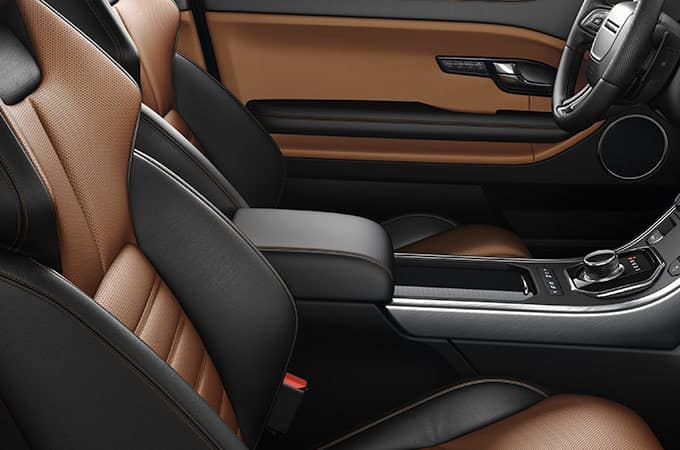 2019 Land Rover Range Rover Evoque seating