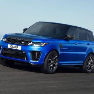 2019 Land Rover Range Rover Sport on the road