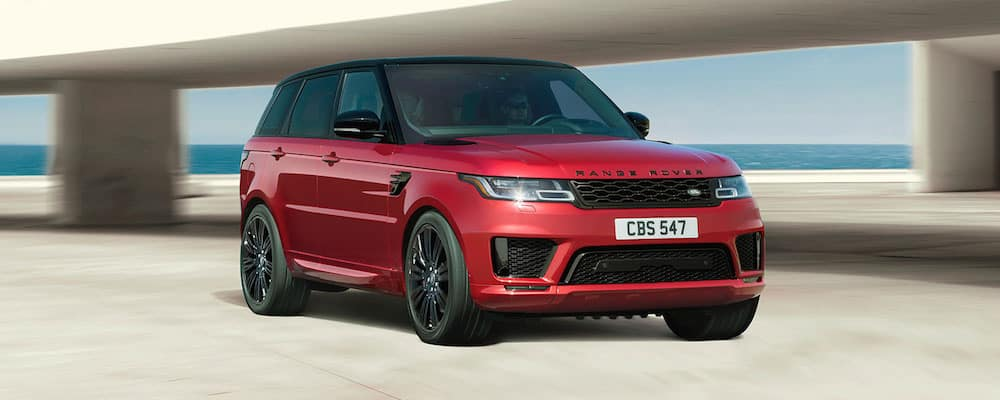 Range Rover Sport in Firenze Red