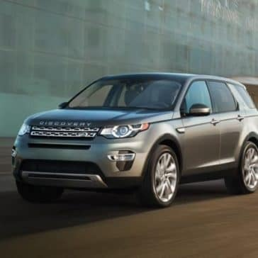 2019 Land Rover Discovery Sport Driving