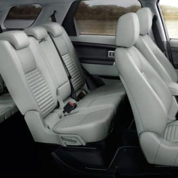 2019 Land Rover Discovery Sport Interior Seating