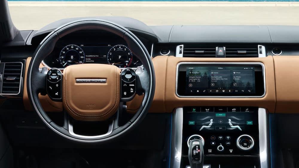 2019 Range Rover Sport interior