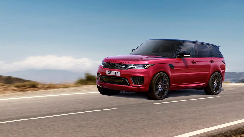 2019 Land Rover Range Rover Sport in Red