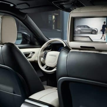 2019 Land Rover Range Rover Velar rear entertainment