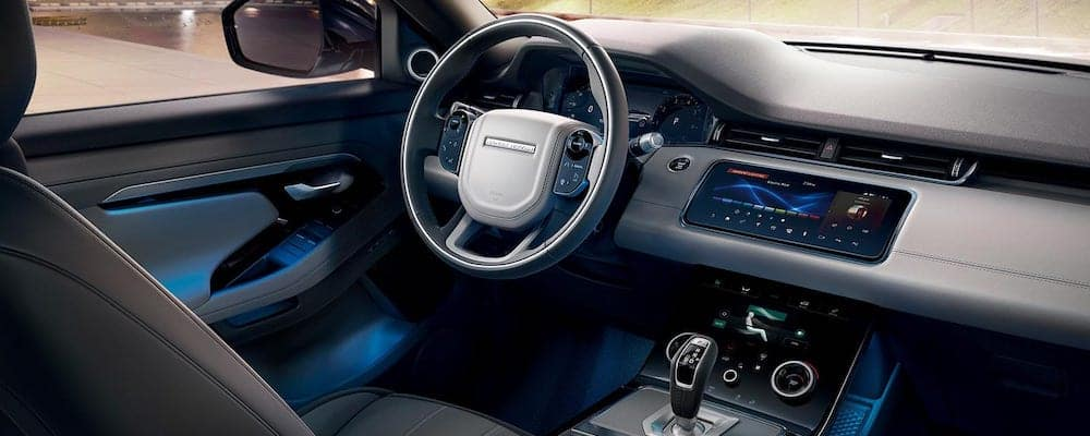 2020 Range Rover Evoque with Configurable Ambient Interior Lighting