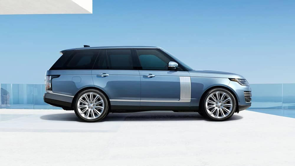 2020 Range Rover Side View