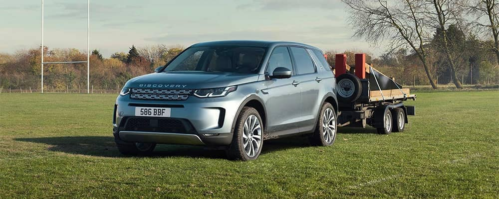 2020 Land Rover Discovery Towing