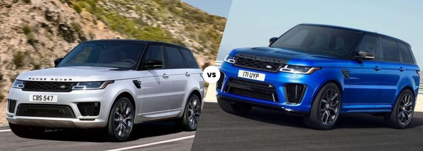 2021 Range Rover vs 2021 Range Rover Sport