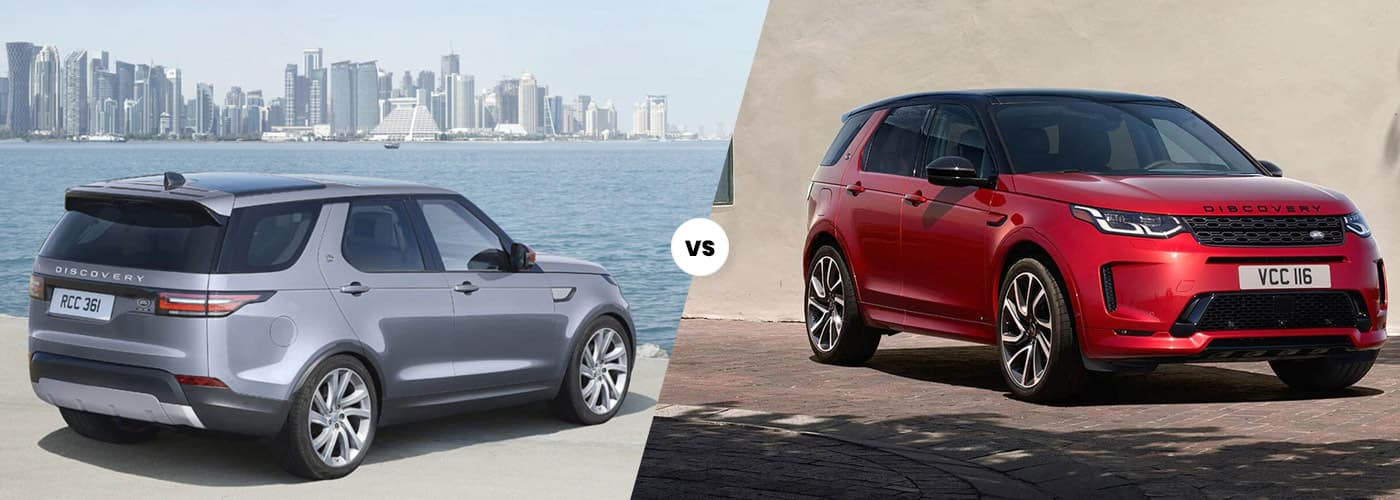 2020 Land Rover Discovery Vs. 2020 Land Rover Discovery Sport comparison