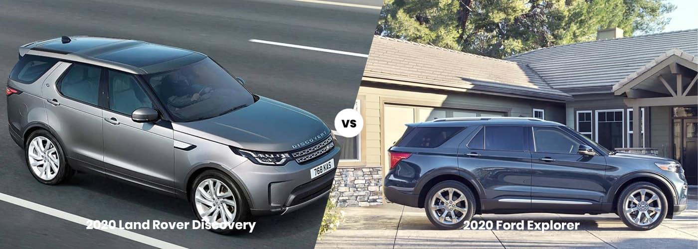2020 Land Rover Discovery vs 2020 Ford Explorer comparison