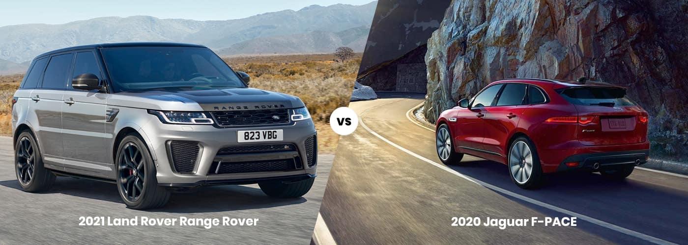 2021 Land Rover Range Rover vs 2020 Jaguar F-PACE Comparison