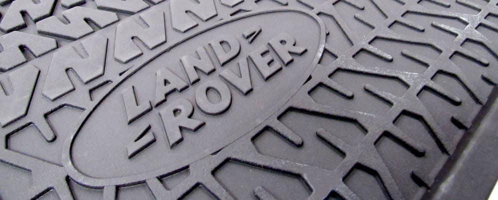 Rubber Land Rover floor mats