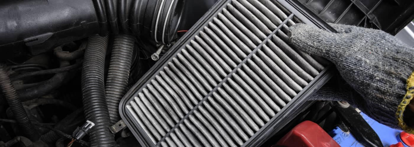 Cabin air filter used
