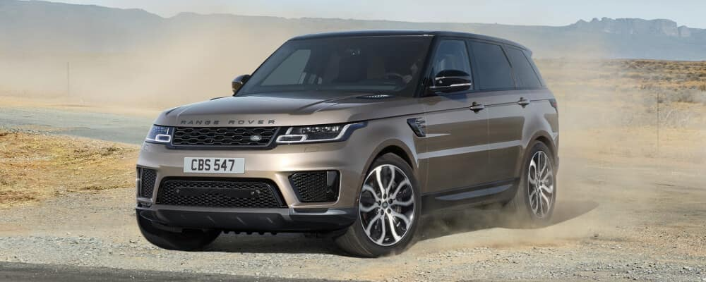 2021 Land Rover Range Rover in the sand