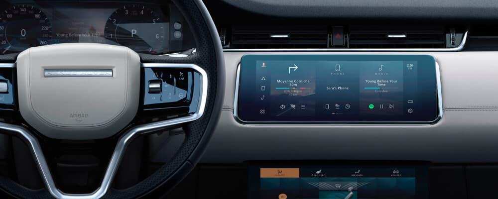 2021 Range Rover Evoque interior dashboard
