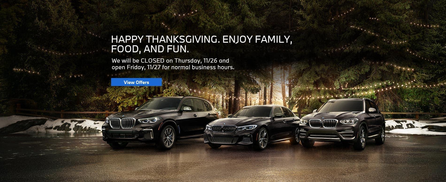 BMW-Nov20-ThanksgivingHours-Banner