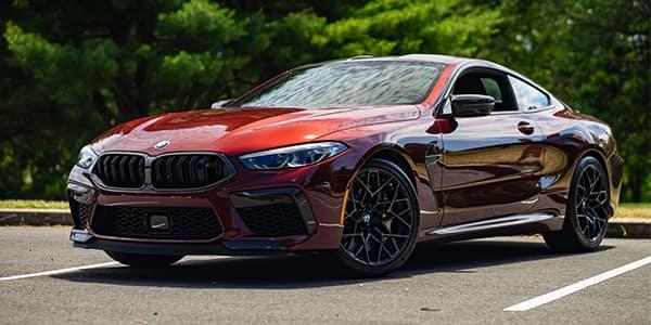 BMW M Series M8 front