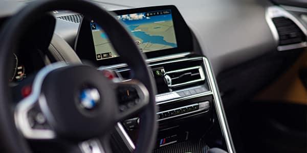 BMW M Series M8 interior