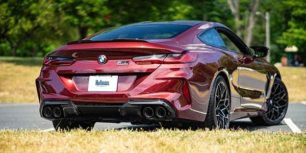BMW M Series M8 back