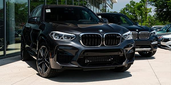 BMW M Series X3 M front