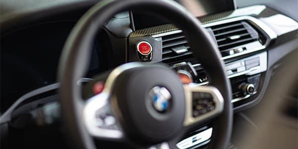 BMW M Series X3 M interior