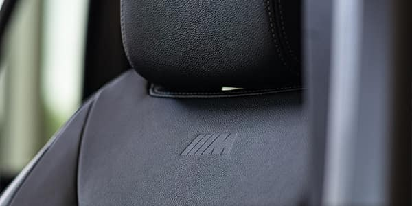 BMW M Series X3 M seats